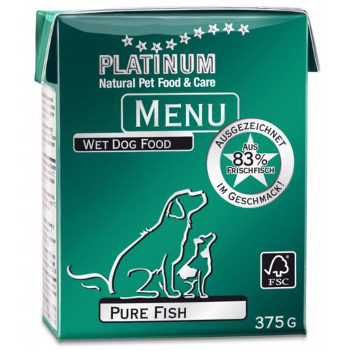 Platinum Menu Ren Fisk 375 g