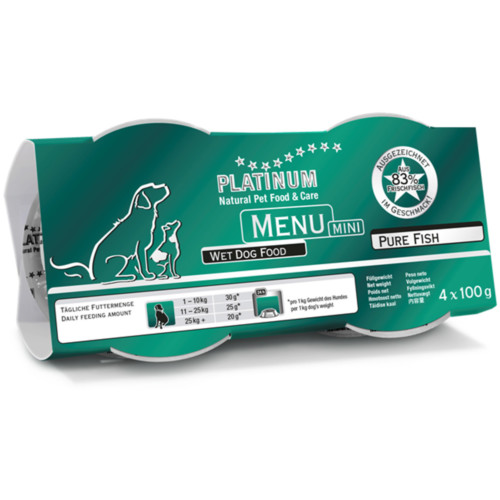 Platinum Menu mini Ren Fisk 12x100 g