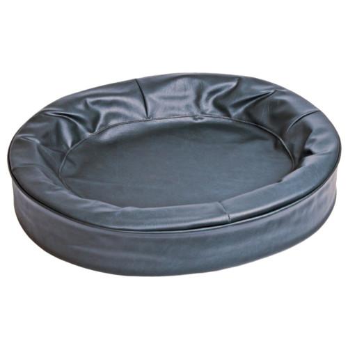 Bia hundbädd 5 svart oval 60x70cm