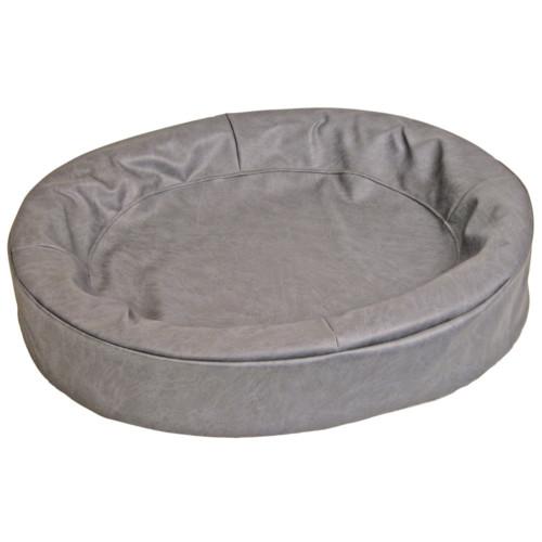 Bia hundbädd 5 grå oval 60x70cm
