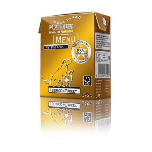 Platinum Menu Iberico+Kalkon 375 g