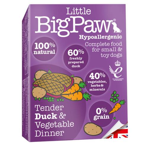 LBP Dog tender duck & vegetable dinner 150g