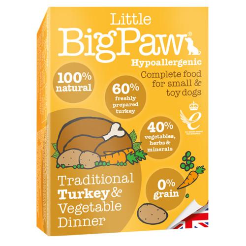 LBP Dog traditional turkey & vegetable dinner 150g