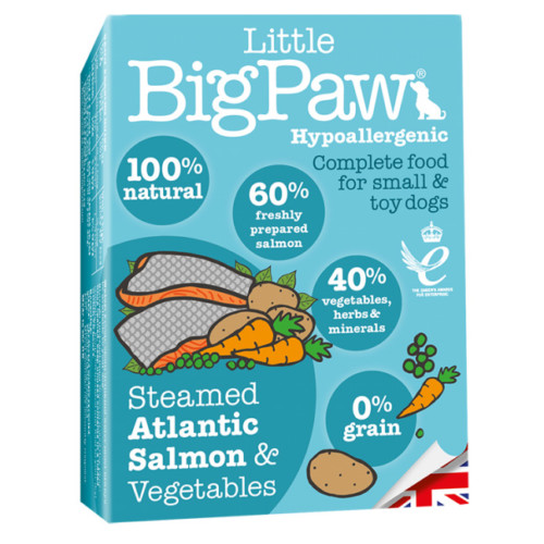 LBP Dog steamed atlantic salmon & vegetables 150g
