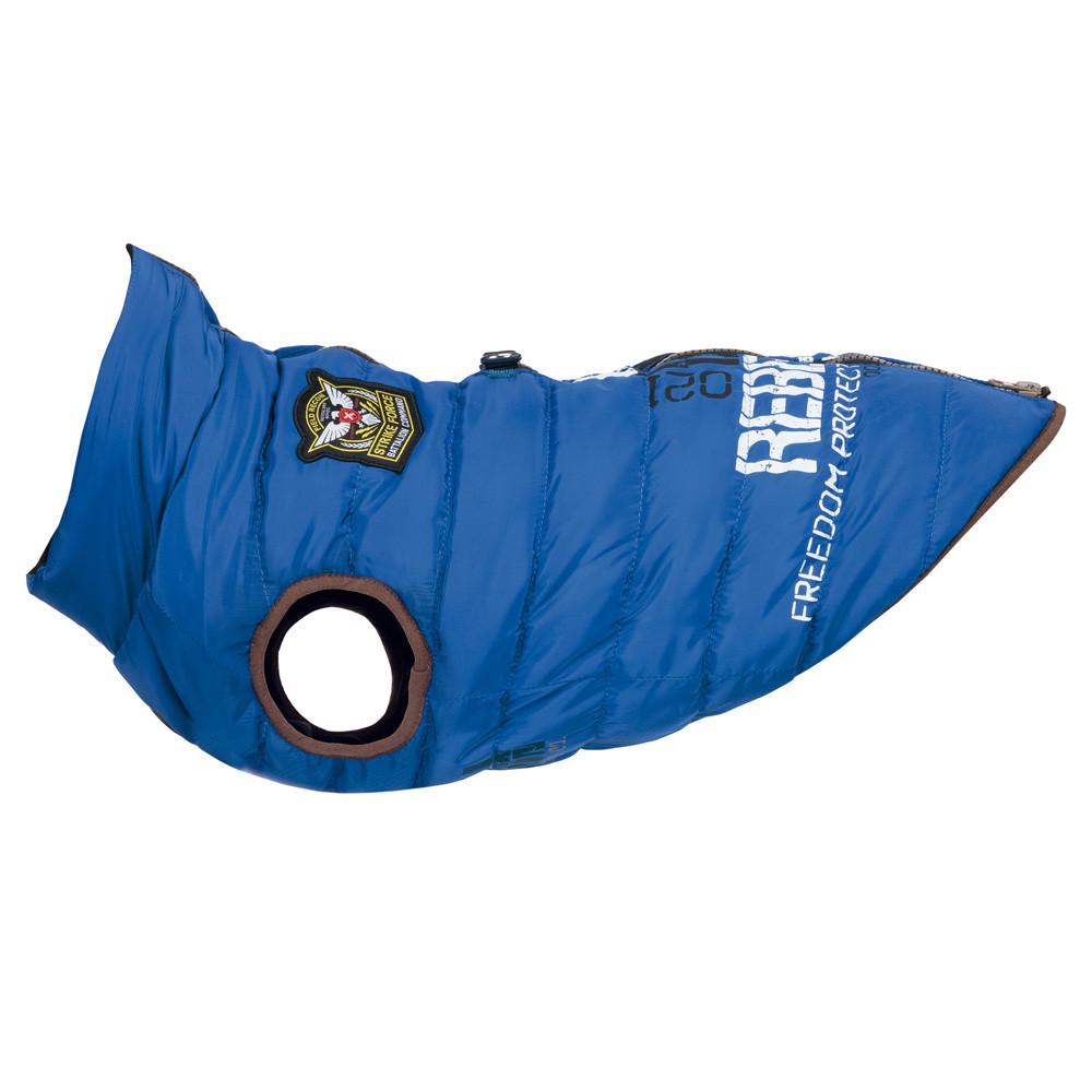 Saint-Malo täcke med sele, S: 36 cm, blå