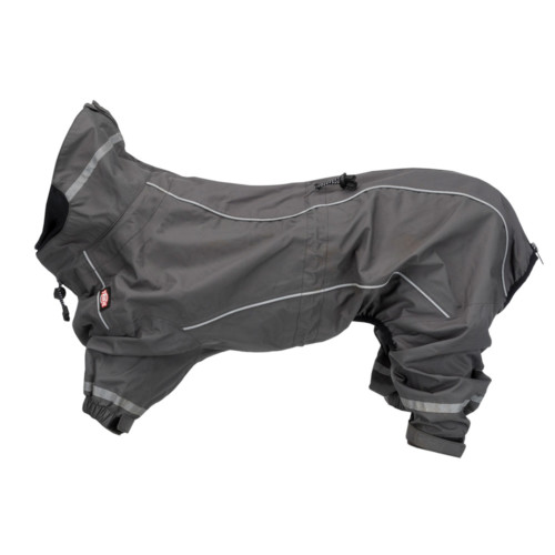 Vaasa regnoverall, XL: 70 cm, grå