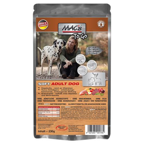 Mac's soft adult kalkon & hjort to go
