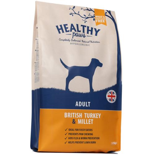 British turkey & millet adult 12kg