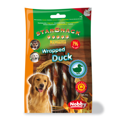 StarSnack Barbecue Wrapped Duck 70g