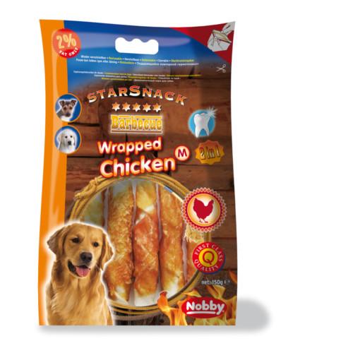 StarSnack Chicken Wrapped M - 150g/13cm
