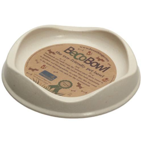 Beco matskål Beige från växtfibrer 13,6x3 cm
