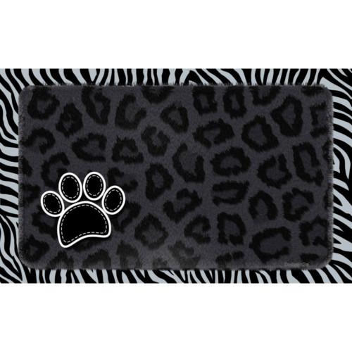 Underlägg Leopard Svart Drymate