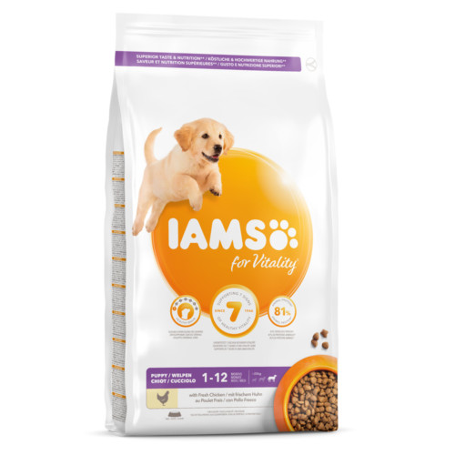Iams Dog Puppy Large 3 kg