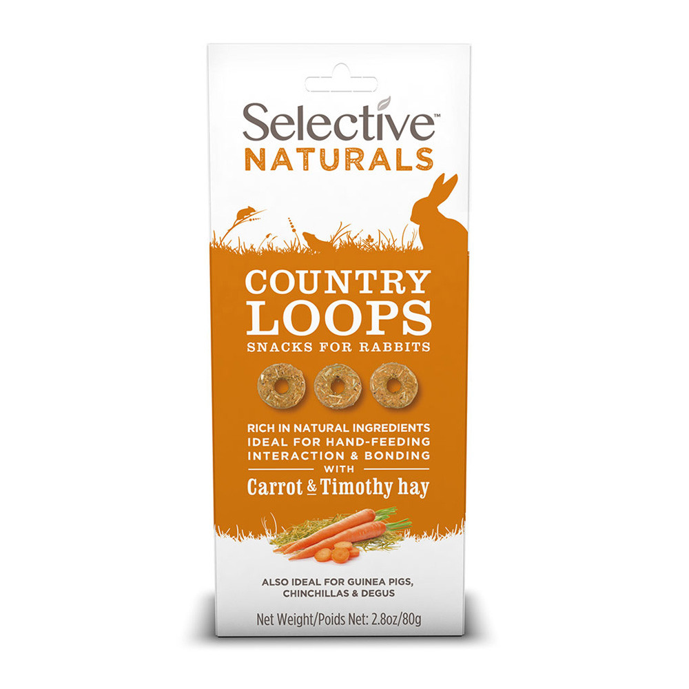 Selective Naturals Country Loops 80 g