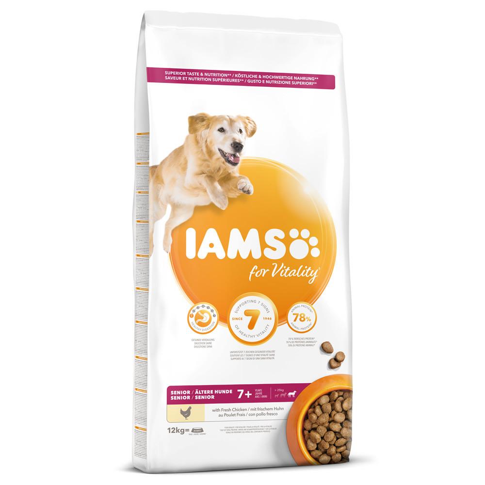 Iams Dog Senior Large 12 kg