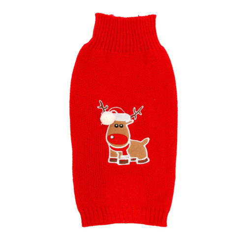 Jultröja ren 35 cm röd
