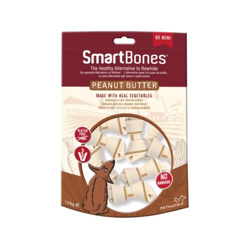 x SmartBones Peanut Butter Mini 8-pack