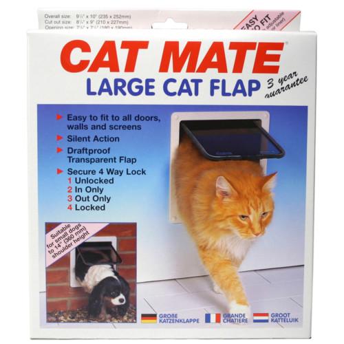 Kattlucka Cat Mate large 4 vägs