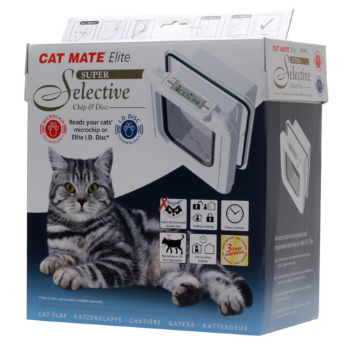 Kattdörr Cat Mate Elite Chip 355 Super S