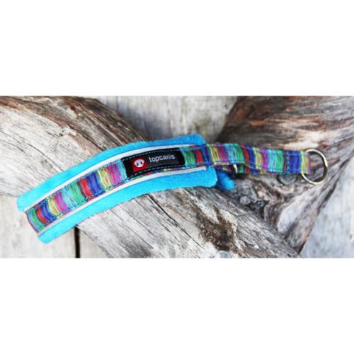 Nordic Lights soft halsband 4 Blå