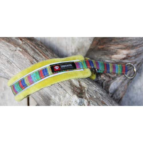 Nordic Lights soft halsband 5 Lime