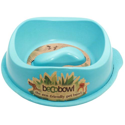 Beco matskål Anti-hetsätning Blå från växtfibrer 21 cm