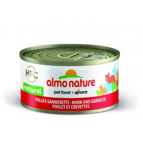 Almo Nature HFC Natural kyckling-räkor 70g