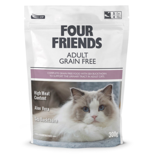 Four Friends Cat Adult Grain Free 0,3 kg
