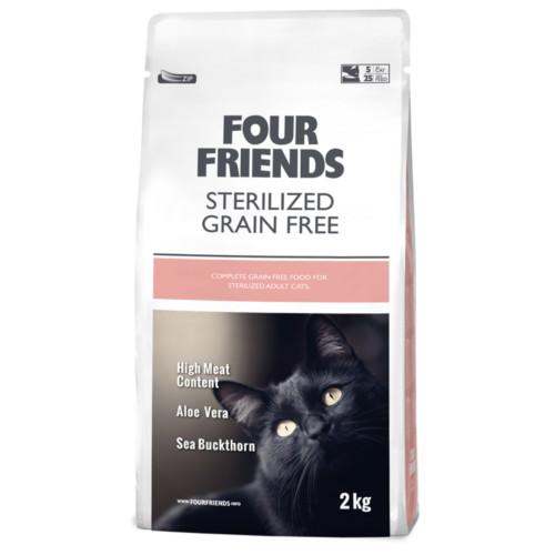 Four Friends Cat Sterilized Grain Free 2 kg