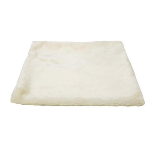 Hyllplatta med hängmatta 40 x 40 cm cream