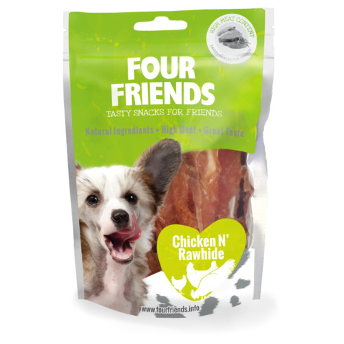 FF Dog Chicken N Rawhide 100g