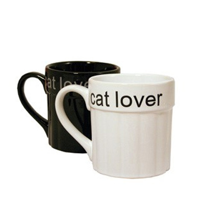 Class Act Mug Cat lovers 10x11 cm black