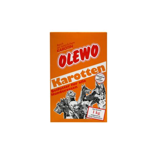 Olewo morötter hund 1 kg