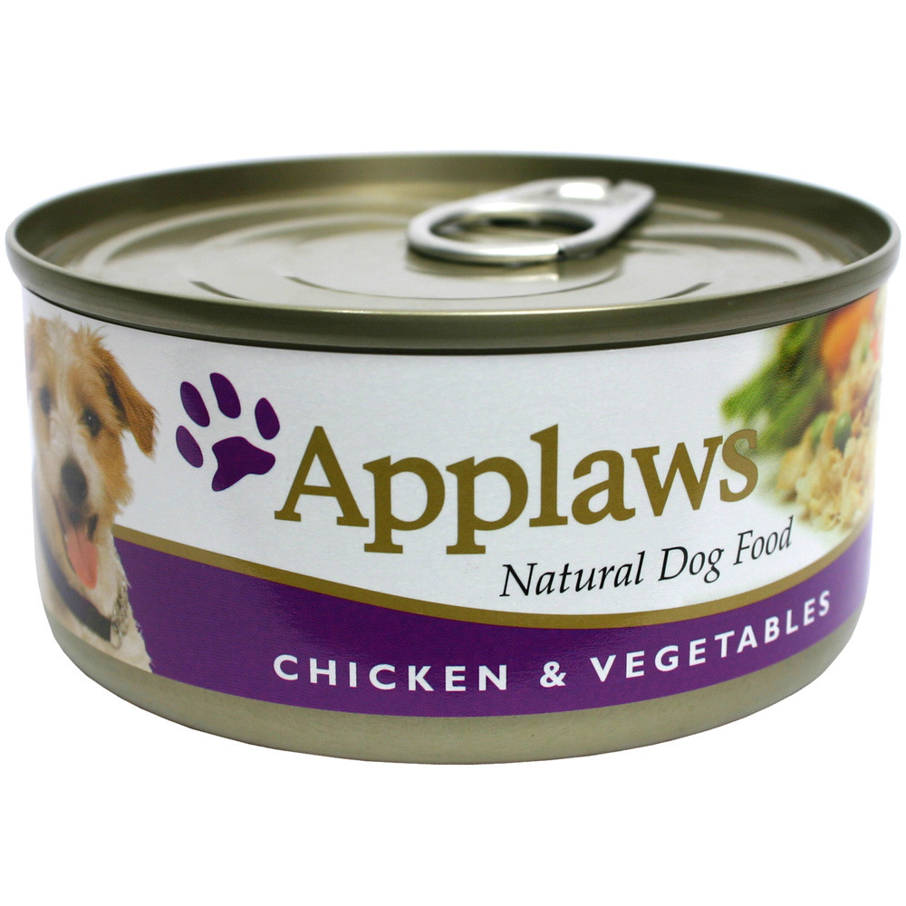 Applaws hund konserv Chicken Veg&Rice 156g