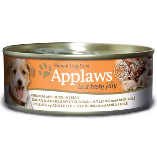 Applaws hund konserv Gelé Kyckling Anka 156g