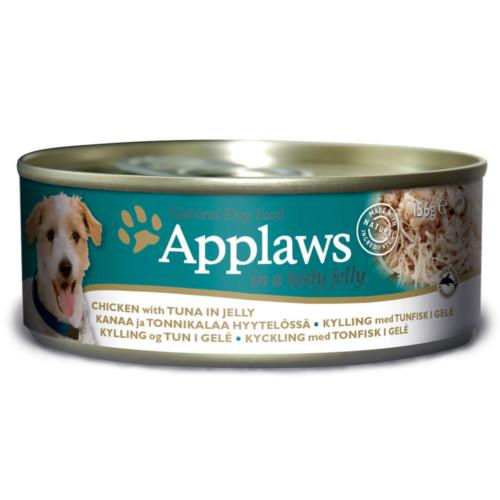 Applaws hund konserv Gelé Kyckling Tonfisk 156g