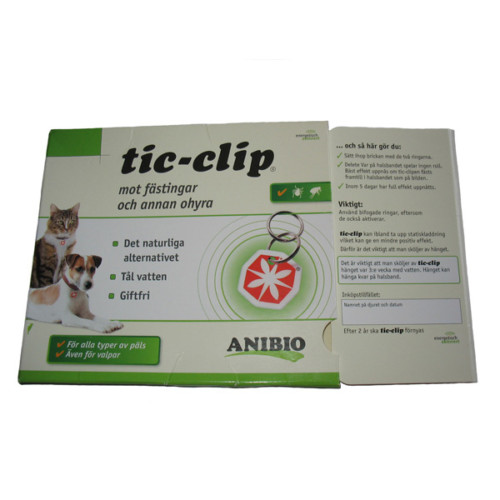 Tic-clip Bricka Giftfri