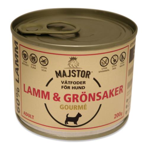 Majstor Hund Wet Lamm & Grönsaker Gourmè 200g