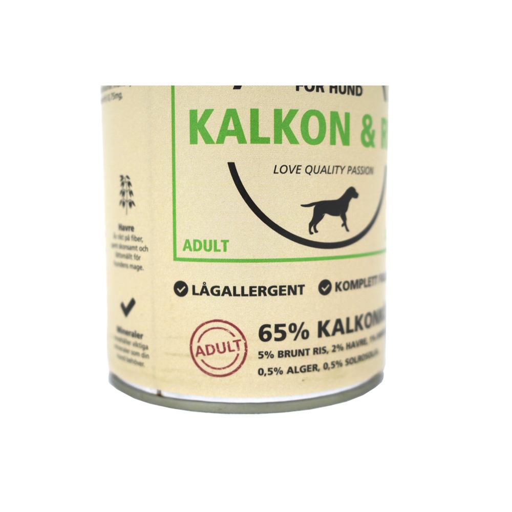 Majstor Hund Wet Kalkon & Ris 400g