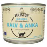 Majstor Cat Wet Blended Kalv Och Anka 200g