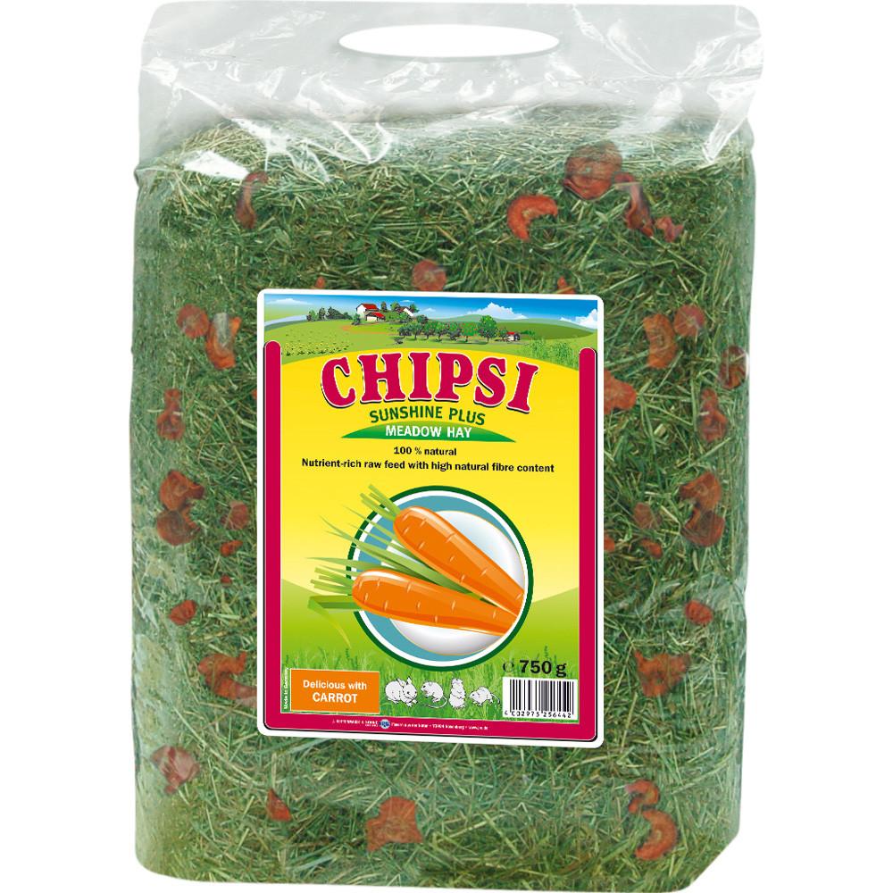 Chipsi hö och morötter 750g