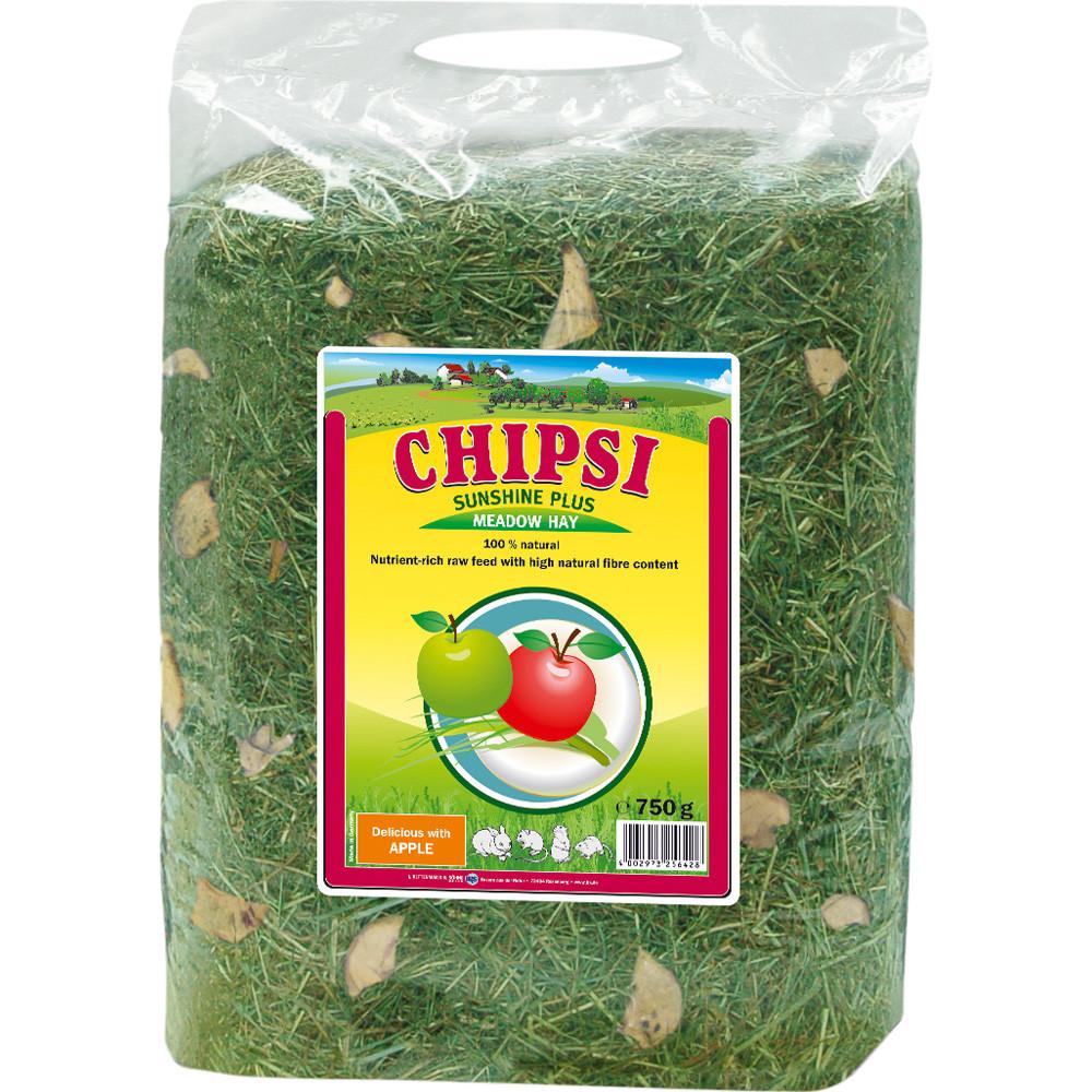 Chipsi hö och äpplen 750g