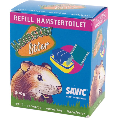 Hamstertoalettsand 500g Savic