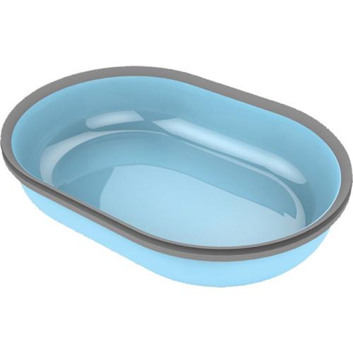 Matskål enkel t Pet Feeder blå