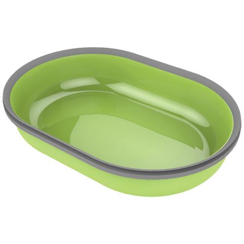 Matskål enkel t Pet Feeder grön