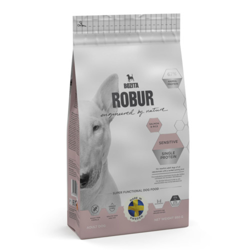 Robur Sensitive Single Protein Salmon 950g