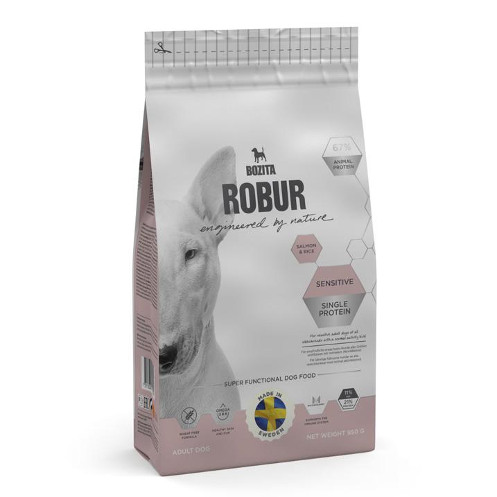 Robur Sensitive Single Protein Salmon 950g