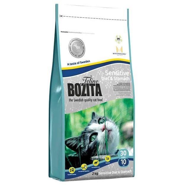 Bozita Feline Diet & Stomach - Sens. 2kg