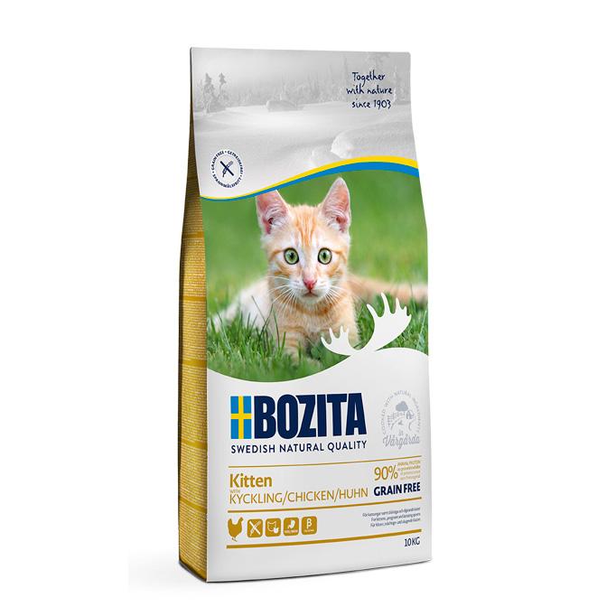 Bozita Kitten Grain Free Chicken 10 kg