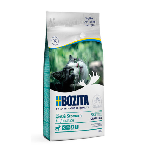 Bozita Diet & Stomach Grain Free Elk 10 kg